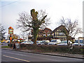 TL3100 : The Plough public house, Cattlegate Road, Enfield by Christine Matthews