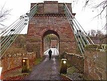 NT9351 : Union Chain Bridge by Joan Sykes
