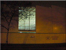 TL8364 : Incomplete cladding reveals the interior of Asda store by John Goldsmith