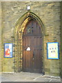 SE1226 : St John the Baptist Church, Coley, Doorway by Alexander P Kapp