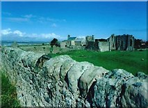 NU1241 : The Priory on Holy Island by Andy Jamieson