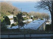 SX5646 : Stoke Beach Caravan Park by Sarah Charlesworth