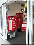SZ0891 : Bournemouth: postbox № BH1 11, The Square by Chris Downer