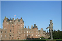 NO3847 : Statue of King Charles I, Glamis Castle by Dan