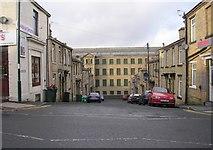 SE1431 : Vine Street - Great Horton Road by Betty Longbottom