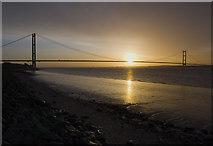 TA0025 : Sunrise, Hessle Foreshore by Paul Harrop