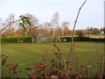 TL2863 : Papworth Everard Bowls Club by Geographer