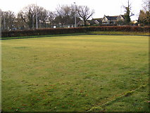 TL2863 : Papworth Everard Bowling Green by Geographer
