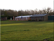 TL2863 : Papworth Everard Cricket Pavilion by Geographer