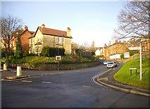 SO7845 : Barnards Green Road by Bob Embleton