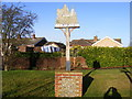 TM0659 : Stowupland Village Sign by Adrian Cable
