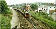 J4791 : Permanent way train, Whitehead by Albert Bridge