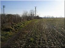 SP5200 : Footpath to Kennington Road by Shaun Ferguson