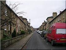 SE1338 : George Street - Albert Terrace by Betty Longbottom