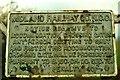 D0510 : Midland Railway sign near Glarryford by Albert Bridge