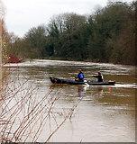 SJ6603 : Canoeing near Ironbridge, Shropshire by Andy F