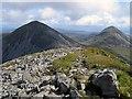 NR4873 : Beinn an Oir and Beinn Shiantaidh from Beinn a' Chaolais by Andrew Curtis