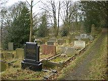 SE0724 : Skircoat Moor Road Graveyard by Alexander P Kapp