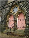SE0724 : Former King Cross Methodist Church, Doorway by Alexander P Kapp