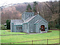 NY3408 : St Mary of the wayside R.C. Church, Grasmere by Bill Henderson