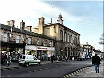SK0394 : High Street West, Glossop by Gerald England