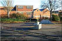 SK4833 : Skateboard area in West Park by David Lally