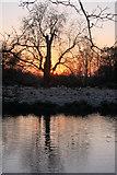 TL8063 : Sunrise at Little Saxham by Bob Jones