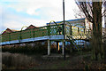 SK4833 : Footbridge over the Erewash Canal by David Lally
