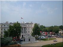 TQ2879 : Old St Georges Hospital Hyde Park Corner London by PAUL FARMER