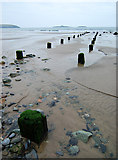 SH1626 : Porth Simdde at low tide by Dave Croker