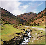 SO4494 : Carding Mill Valley footpaths by Andy F