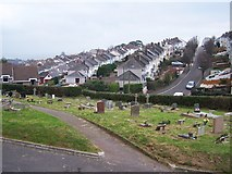 SX8760 : View from the cemetery by Richard Dorrell