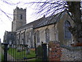 TM2980 : St.John the Baptist Church, Metfield by Adrian Cable