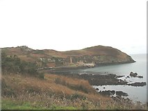 SH4094 : Cliff top on the south side of Porth Wen by Eric Jones