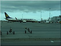 TL5523 : London Stansted Airport by M J Richardson