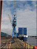 ST1973 : Queen Alexandra Dock by Gareth James