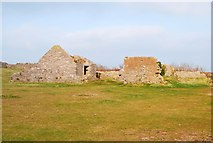 SX9456 : Fort buildings, Berry Head by Paul Hutchinson