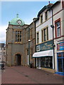 SD1780 : The clock tower in the Market Square, Millom by Andrew Hill