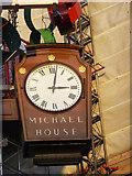 TQ2881 : Clock, Marks & Spencer, Oxford Street, London W1 by Christine Matthews