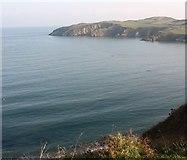 SH4094 : The eastern shore of Porth Wen from Trwynbychan to Trwyn Llech by Eric Jones