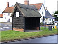 TM3973 : Bus Shelter, The Street, Bramfield by Adrian Cable