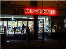 SU1584 : Woolworths rear entrance, Edgware Road, Swindon by Brian Robert Marshall