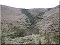 SD9724 : Small clough descending from Erringden Moor by Stephen Craven