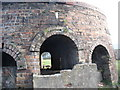 SH4094 : A close-up of one of the three surviving bee-hive kilns by Eric Jones