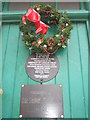 TQ3082 : Informative plaques on the Cabbies' Shelter in Russell Square by Basher Eyre