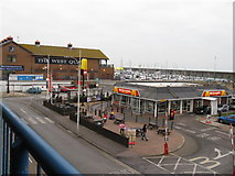TQ3303 : SE view of Marina from car park by Dave Spicer