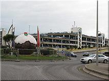 TQ3303 : Marina Car park by Dave Spicer