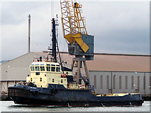 J3576 : Tug 'Yewgarth' in Belfast by Rossographer