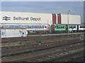 TQ3367 : Selhurst railway depot by Stephen Craven