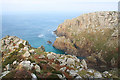 SW4136 : Porthmoina Cove by Bob Jones